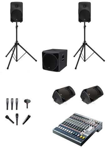 Band PA System Hire