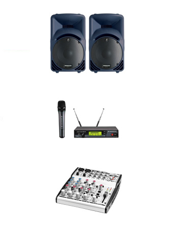 Speech PA System Hire Kent