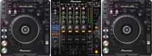 Pioneer CDJ1000 mk3 DJM800 hire