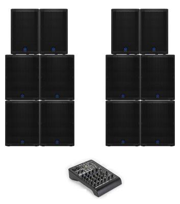 12kW Speaker System Hire Kent