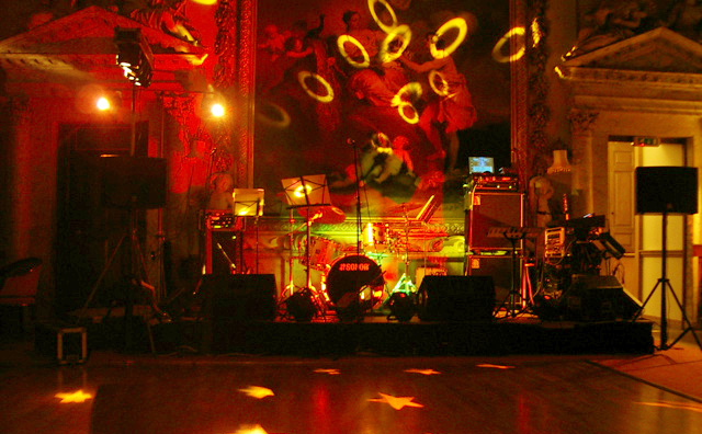 Stage lighting hire from Bandshop Sound & Light