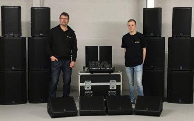 Bandshop Sound & Light Expands Hire Inventory