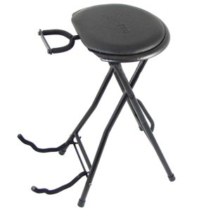 Guitarist stool and guitar stand hire