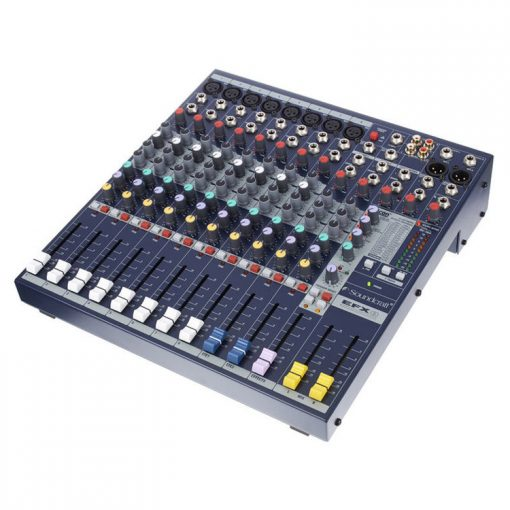 Soundcraft EFX8 mixing console hire kent