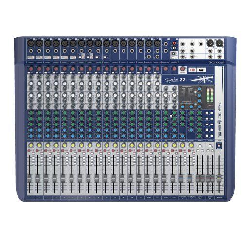Soundcraft Signayure 22 mixing desk