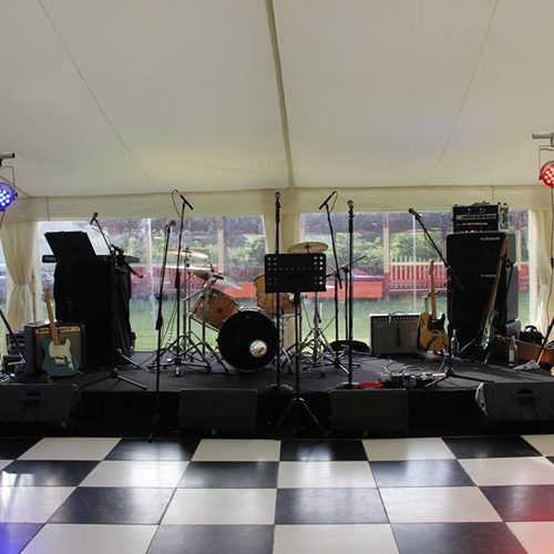 Indoor stage hire in Kent, London & the South East