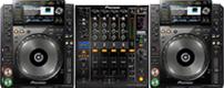 Pioneer CDJ-2000NXS DJM-900NXS hire kent