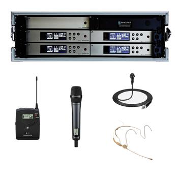 Sennheiser G4 Wireless System Hire Kent