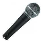 Shure SM58 Microphone hire in Kent, London & the South East