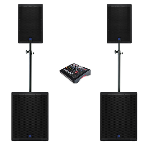 High Power DJ Speaker System Hire in Kent, London & the South East