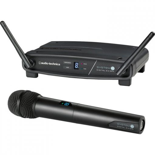 Audio Technica System 10 wireless microphone hire Kent