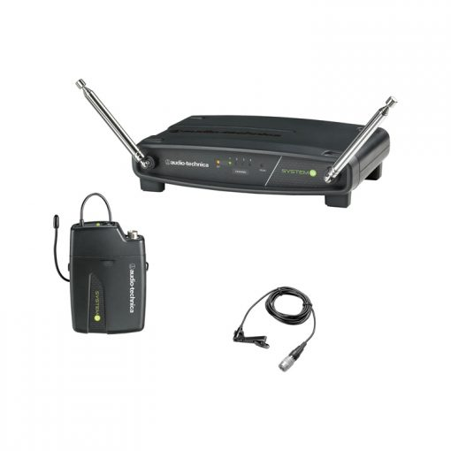 Audio Technica System 10 wireless lavalier microphone hire Kent