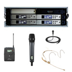 Sennheiser G4 Wireless System Rack Pack hire in Kent, London & the South East