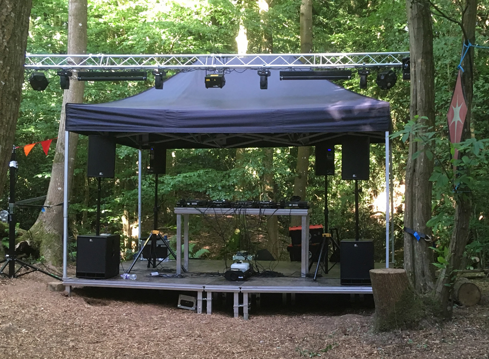 Gazebo stage hire kent