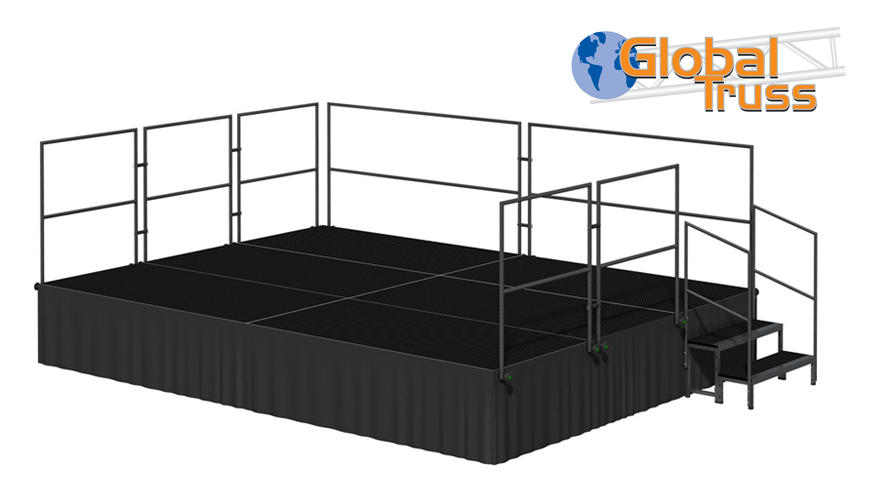 Global Truss stage deck hire in Kent, London & the South East