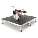 Global Truss 2m x 2m drum riser hire in Kent, London & the South East