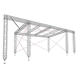Milos SR1 Custom Stage Roof hire in Kent, London & the South East